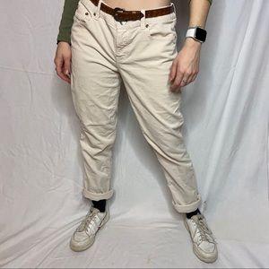 J.Crew Corduroy Matchstick Pants Low Waist Regular